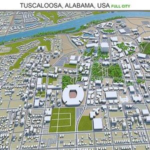 Tuscaloosa Alabama USA 3D