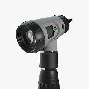 3D Otoscope model