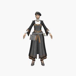 3D model Teacher Woman