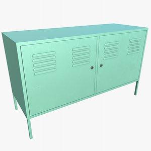 3D Cabinet 2 With PBR 4K 8K model