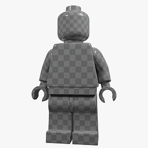 no-Lego minifigure model