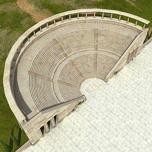 Ancient Amphitheater 3D model