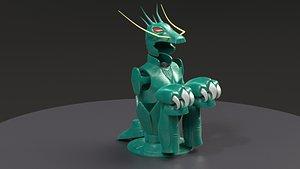 Shiryu Dragon Cloth model