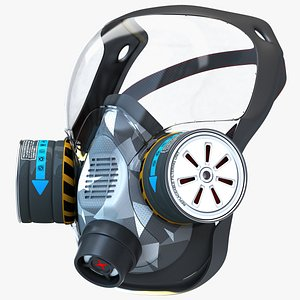 Gas Mask- Respiratory device with protective mask