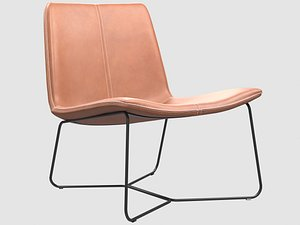 3D slope lounge chair west