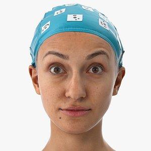 3D joy human head upper