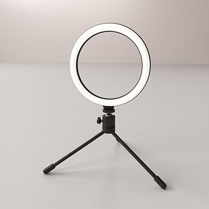 3D Ring LED Light