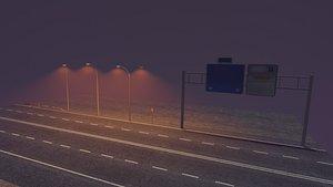 Highway Prop Pack 3D