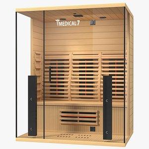 3D Medical 7 Ultra Full Spectrum Infrared Sauna