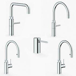 3D Quooker Faucet collection