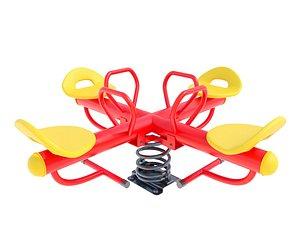 seesaw toy 3D model