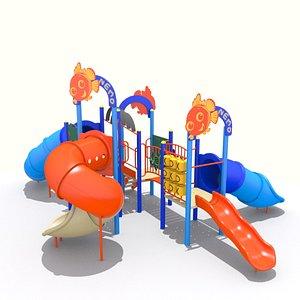 Playground - Fish Nemo Playset 3D model
