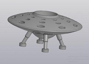 digital flower pots ufo model