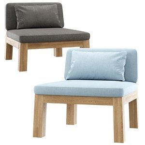 3D niek armchair model