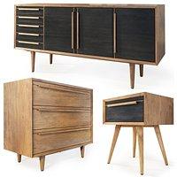 Dresser, sideboard, nightstand Bruni by Etg-Home