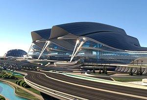 3D Multifunctional building 2