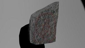 VIKING RUNESTONE 3D model