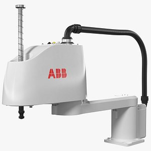 3D model Industrial Robot ABB IRB 910SC Rigged