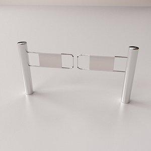 swing gate 3D model