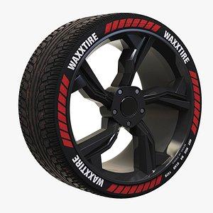 Wheel Rim 2WS 3D model