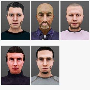 MAN 6 TO  10 3D model