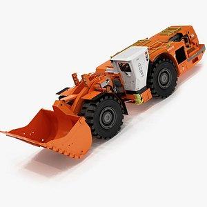 3D Sandvik LH621i Underground Loader Rigger model