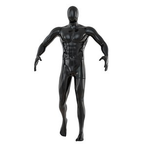 faceless sports mannequin 136 model