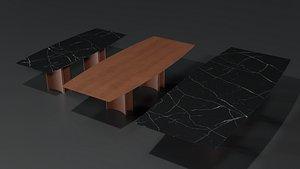 Alan Botte Cristallo Table 3D model