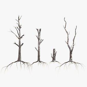 3D dead tree 4
