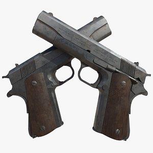 3D 1911 Pistol model