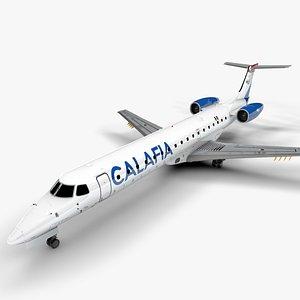 3D CALAFIA AIRLINES  EMBRAER ERJ 145 L1359