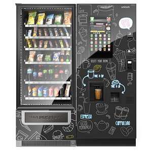 coffee machine foodbox 3D model