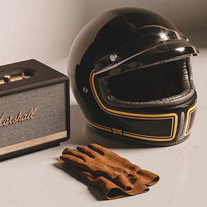 3D Nexx Helmet  and Marshall Stanmore model