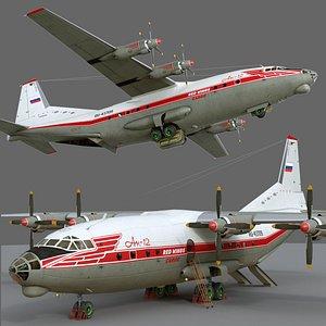 Antonov An-12B conversion 3D