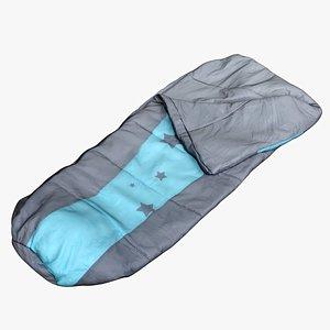 Sleeping Bag Clothes 250 3D model