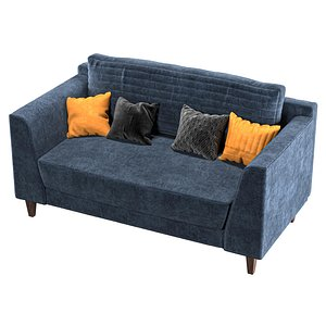 3D model sofa vol 01-two