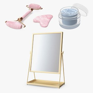 3D Face Beauty Tools Collection model