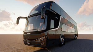 3D bus comil invictus model