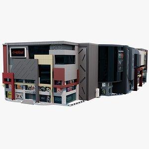 3D model Shopping Mall