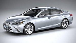 Lexus ES 2022 3D model