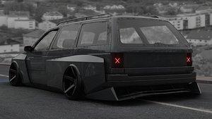 passat car b3 model