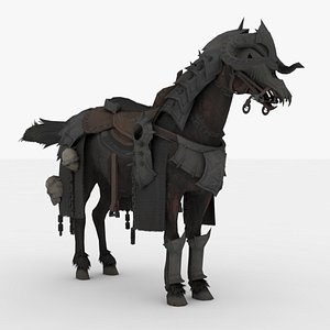 Horse Rigged model