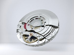 watch movement rolex 3D