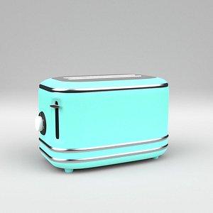 toaster vintage 3D