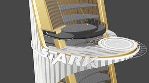 3D model stark tower