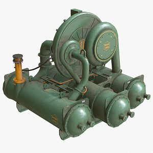 3D industrial compressor