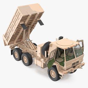 3D Oshkosh FMTV 10 Ton Dump Truck Rigged