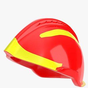 plastic helmet 3d model