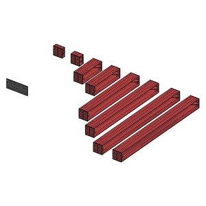 Strut 500 x 500 package model