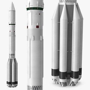 Heavy Lift Launch Vehicle model